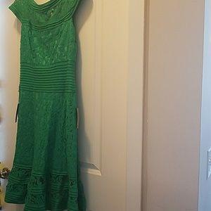 Tadashi shoji A line dress